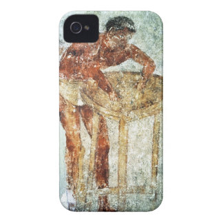 Preparing for a banquet, 4th century BC (mural pai iPhone 4 Cover