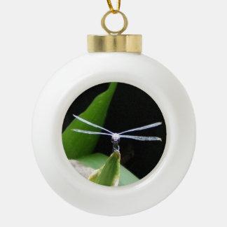 Preparing for Flight Ceramic Ball Christmas Ornament