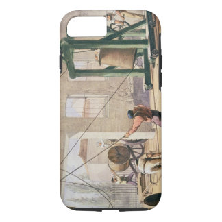 Preparing the Cable, from 'The Atlantic Telegraph' iPhone 8/7 Case