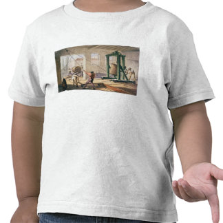 Preparing the Cable, from 'The Atlantic Telegraph' T-shirts