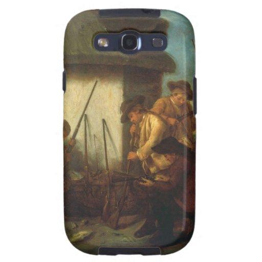 Preparing the Guns (oil on canvas) Samsung Galaxy S3 Cover