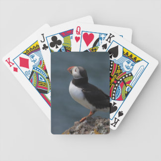 Preparing to Fly Puffin Bicycle Playing Cards