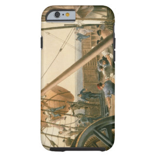 Preparing to launch one of the large buoys, August Tough iPhone 6 Case
