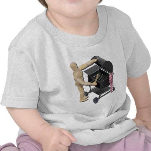 PreparingBarbecueGrill082611 Camiseta
