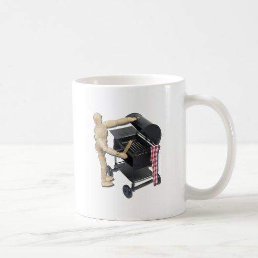 PreparingBarbecueGrill082611 Classic White Coffee Mug