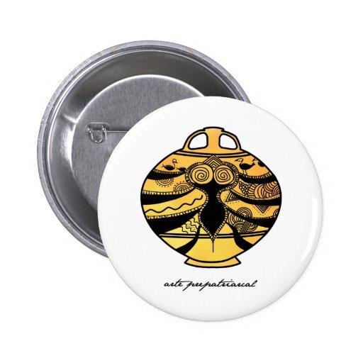 prepatriarchal art button