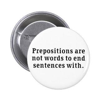 Preposiciones Pin