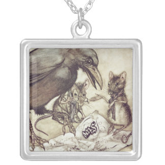 """Preposterous!"""" cried Solomon in a rage"""" Silver Plated Necklace"""