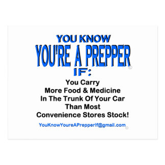 PREPPER 00001 POST CARD