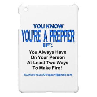 PREPPER 00002 iPad MINI COVER