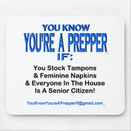PREPPER 00003 MOUSE PAD
