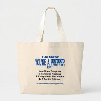 PREPPER 00003 TOTE BAGS