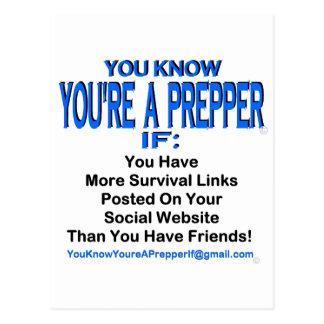 PREPPER 00007 POST CARD