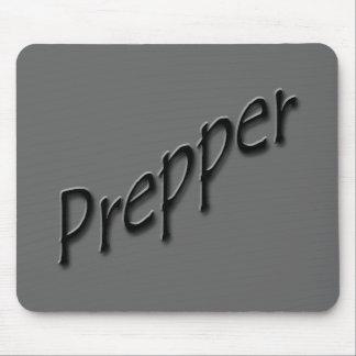 Prepper black mouse pad