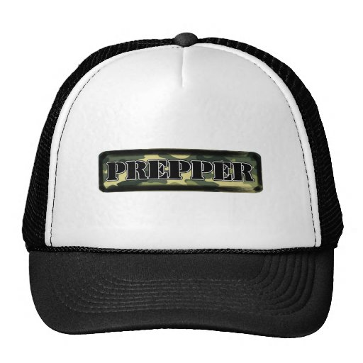 Prepper Camo Mesh Hat