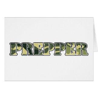 Prepper Card