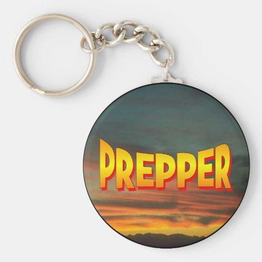 Prepper Llaveros Personalizados