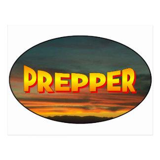 Prepper Post Cards