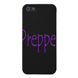 Prepper purple case for iPhone SE/5/5s