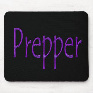Prepper purple mouse pad