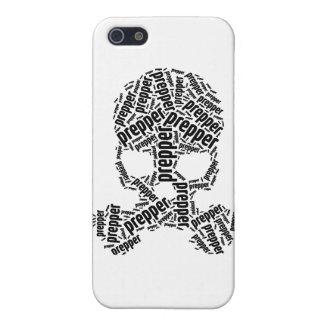 Prepper Skull Gas Mask Phone case