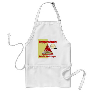 Preppers Ravers Adult Apron