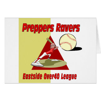 Preppers Ravers Greeting Card