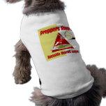 Preppers Ravers Dog T-shirt