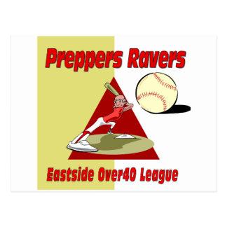 Preppers Ravers Postcard
