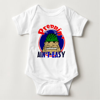 Preppin' Ain't Easy Baby Bodysuit