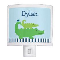 Preppy Alligator Night Light