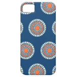 Preppy arabesque polka dot dots tribal pattern iPhone 5 case