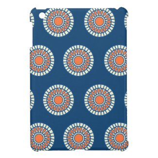 Preppy arabesque polka dot dots tribal pattern