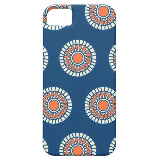 Preppy arabesque polka dot dots tribal pattern iPhone SE/5/5s case
