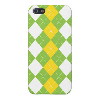 Preppy Argyle Golf Pattern IGolf Case For iPhone SE/5/5s