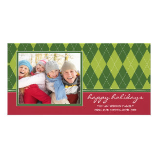 PREPPY ARGYLE HOLIDAY | HOLIDAY PHOTO CARD