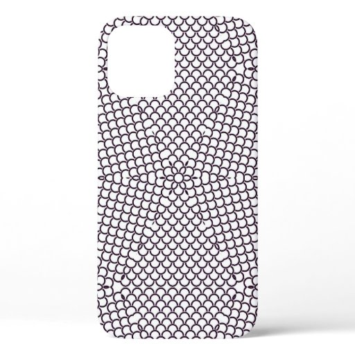 Preppy Argyle Pattern Seamless iPhone 12 Pro Case