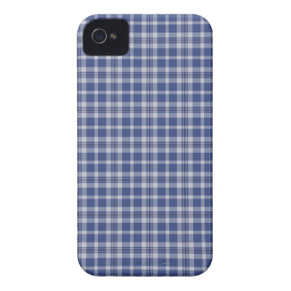 Preppy Blue & White plaid pattern iPhone 4/4s iPhone 4 Cover