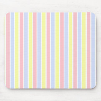 """Preppy Candy Stripe"" Mouse Pad"