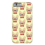 Preppy Frenchie is ready for school in new bow tie Barely There iPhone 6 Case
