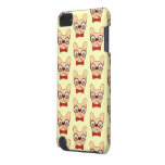 Preppy Frenchie is ready for school in new bow tie iPod Touch 5G Case