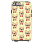 Preppy Frenchie is ready for school in new bow tie Tough iPhone 6 Case