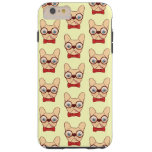 Preppy Frenchie is ready for school in new bow tie Tough iPhone 6 Plus Case