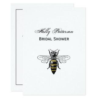 Preppy Heraldic Vintage Bee #2 Coat of Arms C Card