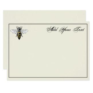 Preppy Heraldic Vintage Bee #2 Coat of Arms C Ivry Card