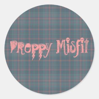 Preppy Misfit Sticker