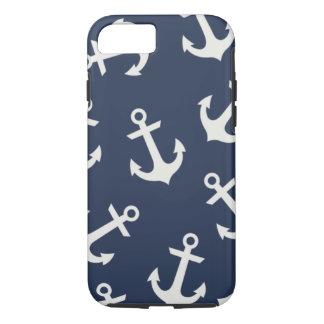 Preppy Nautical Anchor iPhone 7 case  Cover