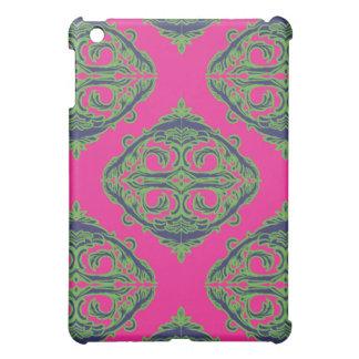 Preppy Pink Damask iPad Mini Case