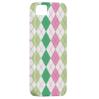 Preppy Pink & Green Argyle Case-Mate ID™ iPhone 5