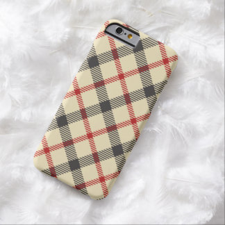 Preppy Plaid Barely There iPhone 6 Case